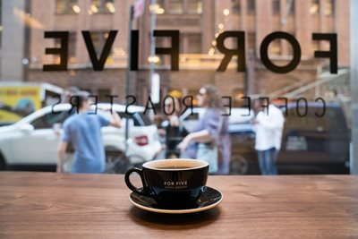 Seven coffee stops in Midtown & Gramercy