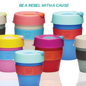 Brighten up your day with KeepCup's Renegade Range