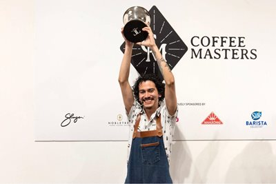 Remy Molina Wins Coffee Masters