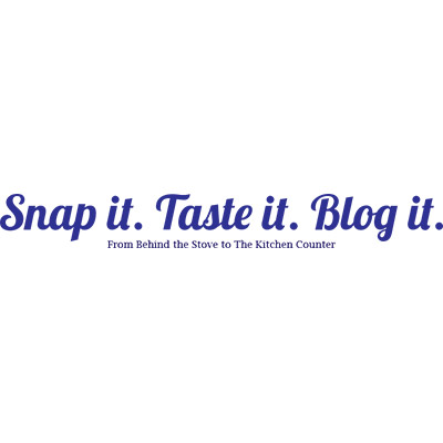 Snap It, Taste It, Blog It